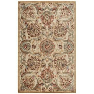 Nourison Graphic Illusions Medallion Beige Multi Color Rug (2'3 x 3'9)