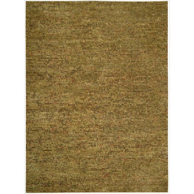 Nourison Hand-tufted Fantasia Textured Terracotta Rug (8' x 11')