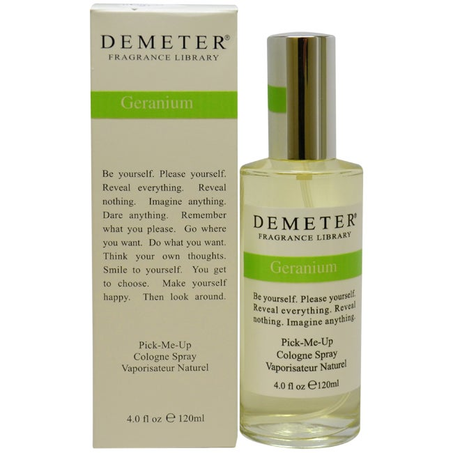 Demeter 'Geranium' Women's 4-ounce Cologne Spray