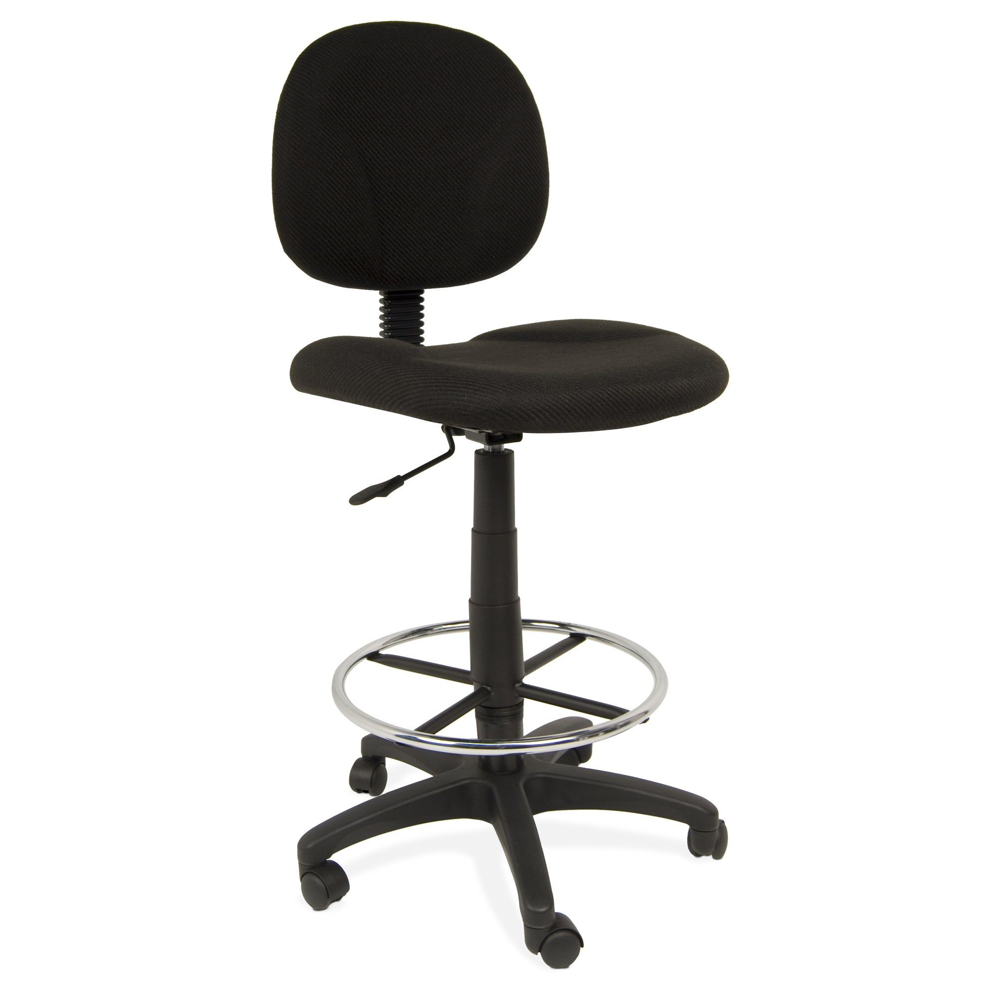 Studio Designs Adjustable Ergo Pro Chair Black with Contoured Padding