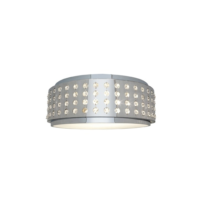 Access Aura 2-light Chrome Flush Mount Fixture