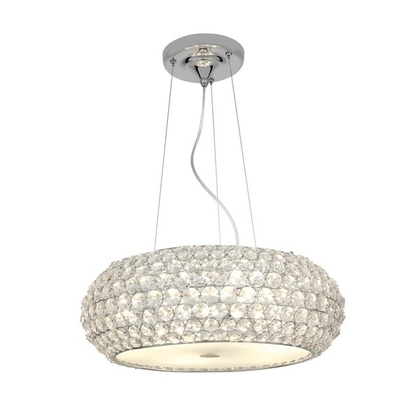 Access Kristal 3-light Chrome Pendant