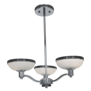 Access Onyx 3-light Chrome Chandelier