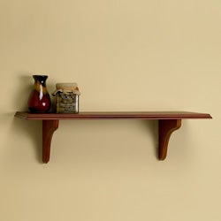 Windsor 24-inch Shelf Kit with Mahogany Finish