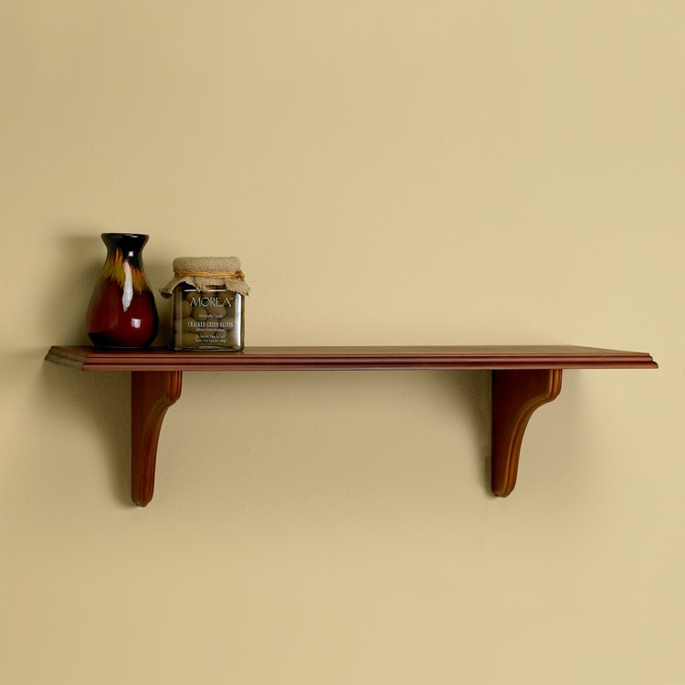 Windsor 36-inch Shelf Kit with Mahogany Finish