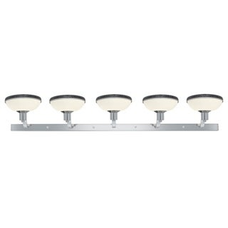 Access Onyx 5-light Chrome Vanity Fixture