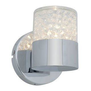 Access Kristal 1-light Chrome Wall Sconce