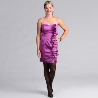 Institute Liberal Women's Ruffle Cocktail Dress