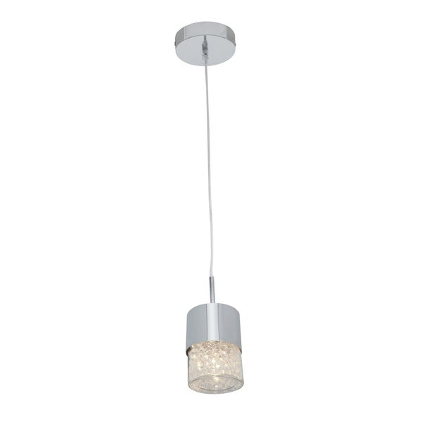 Access Kristal 1-light Chrome Mini Pendant