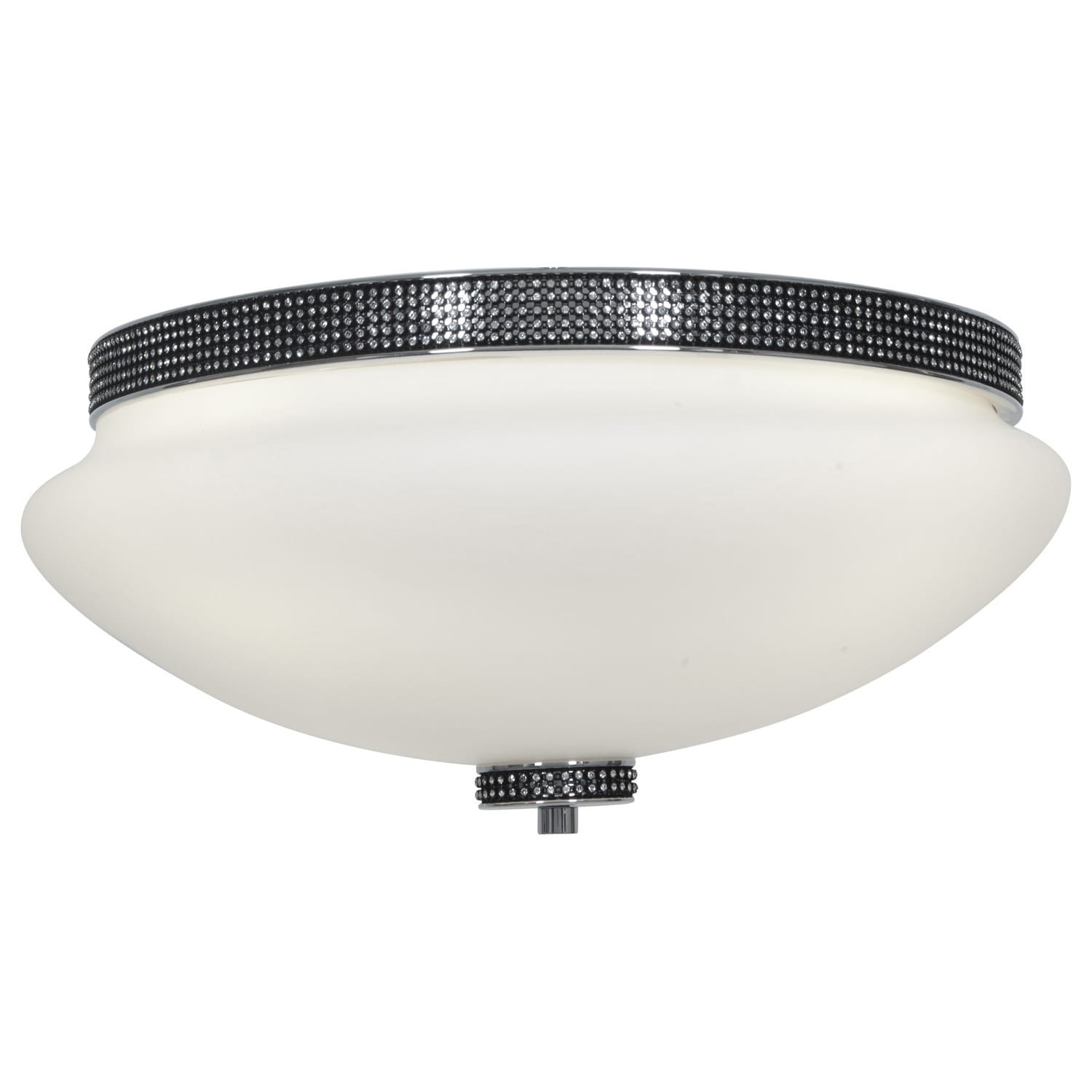 Access Onyx 3-light Chrome 16.5-inch Flush Mount