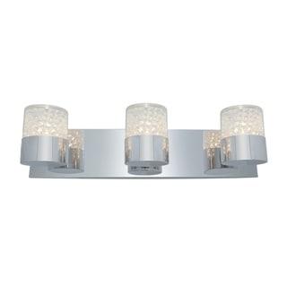 Access Kristal 3-light Chrome Wall Sconce