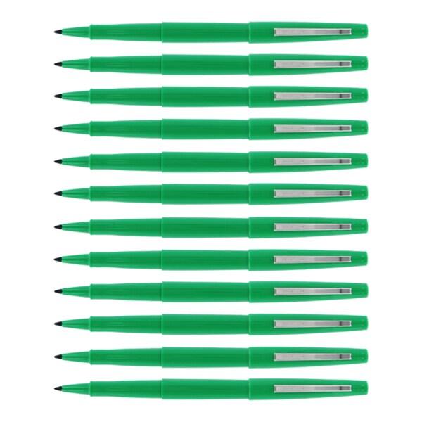 Sanford PMOP Porous Nylon Fiber Point Pen (Pack of 12)