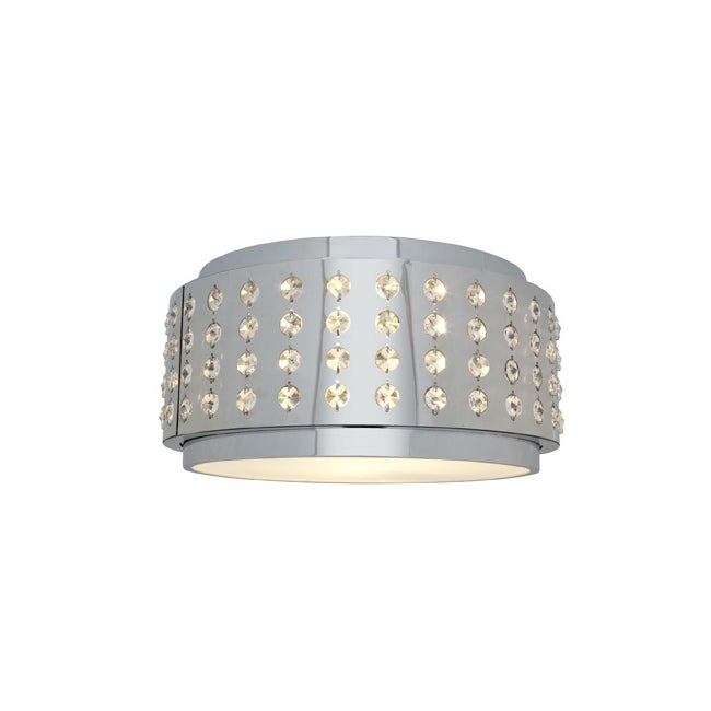 Access Aura 1-light Chrome Flush Mount Fixture