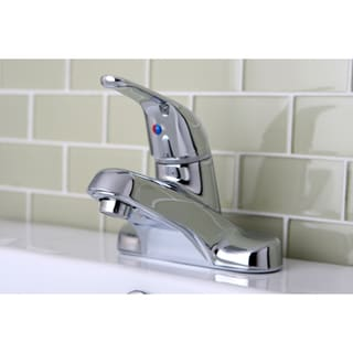 Single Handle Chrome Bathroom Faucet