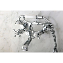 Victorian Wallmount Clawfoot Bath Tub Faucet