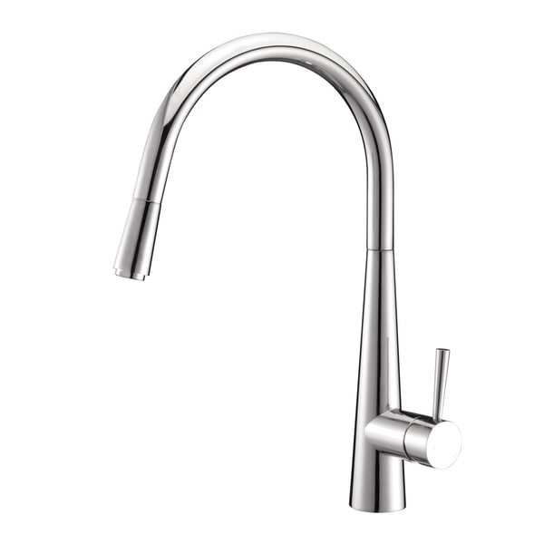 Ruvati RVC2422 Stainless Steel Kitchen Sink and Polished Chrome Faucet Set