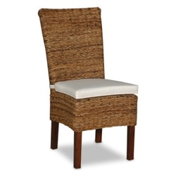 Decorative Brown Transitional Farra Accent Chair with Cushion