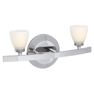 Access 'Sydney' 2-light Chrome Vanity Fixture