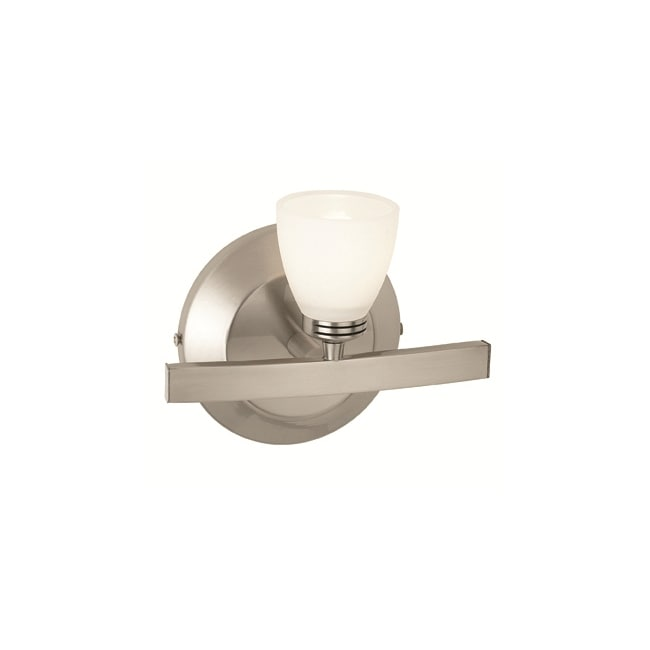 Access 'Sydney' 1-light Matte Chrome Vanity Fixture