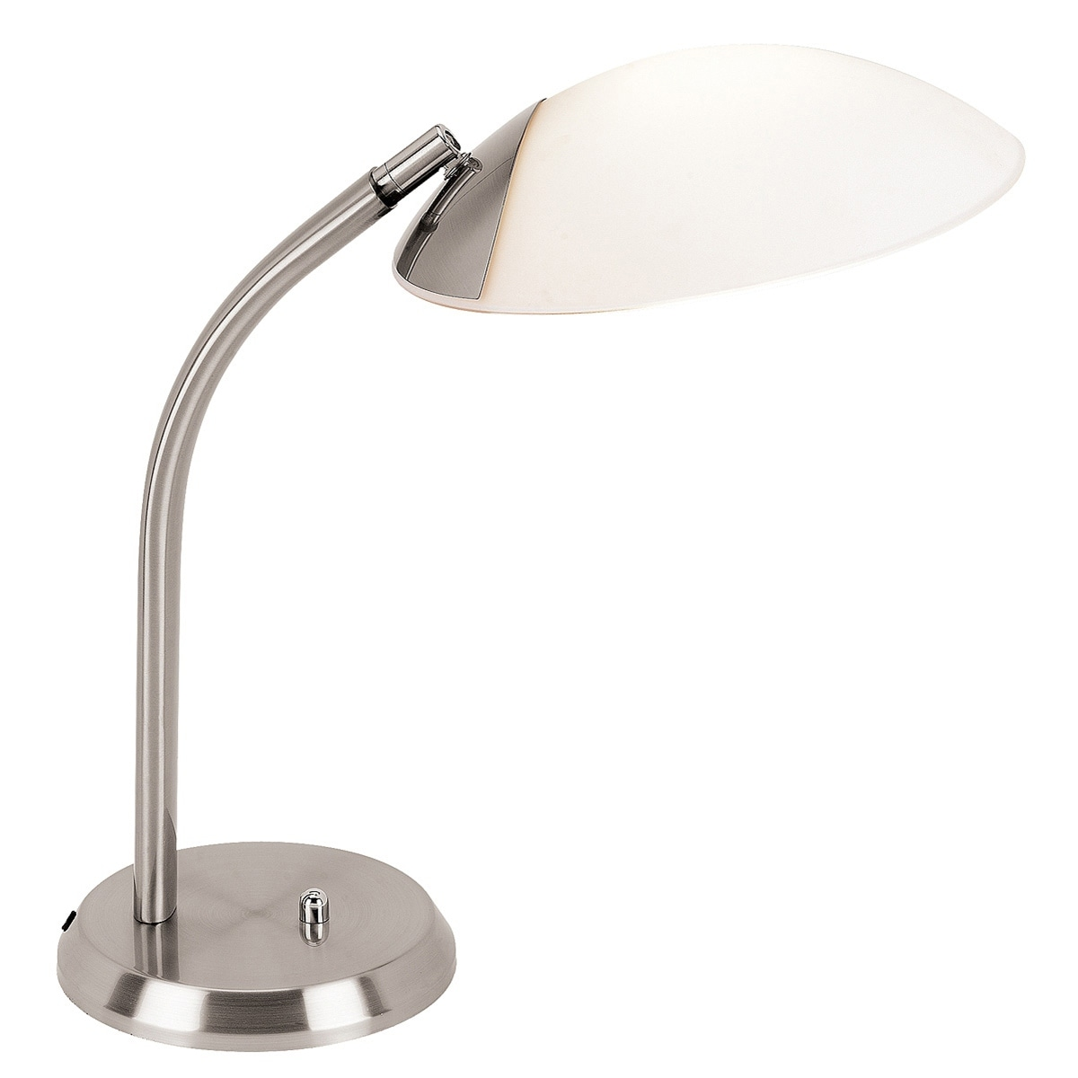 Access 'Tethys' 1-light Brushed Steel Table Lamp