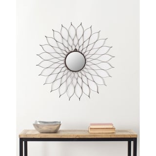 Handmade Arts and Crafts Flower Wall Mirror