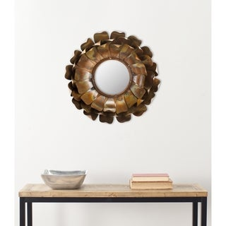 Handmade Arts and Crafts Blossoms Petal Wall Mirror