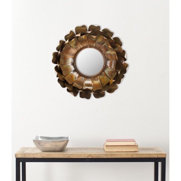 Safavieh Handmade Arts and Crafts Blossoms Petal Wall Mirror
