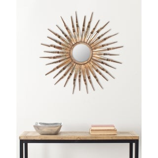 Handmade Arts and Crafts Nova Sun Burst Wall Mirror