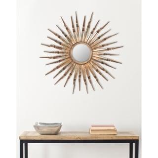 "Safavieh Handmade Art Nova Sunburst 33-inch Decorative Mirror - 33"" x 33"" x 1.5"""