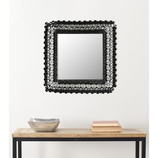 Handmade Arts and Crafts Square Tubes Wall Mirror
