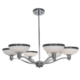 Access 'Onyx' 6-light Chrome Chandelier