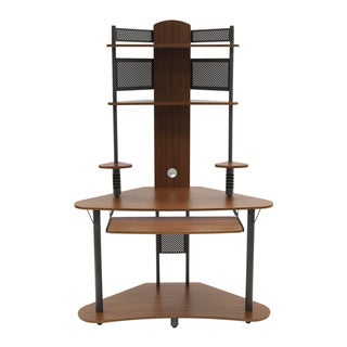 Calico Designs Pewter/Teak Arch Tower