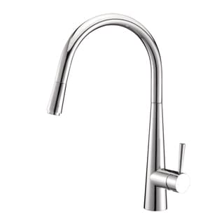 Ruvati RVF1221CH Pullout Spray Kitchen Faucet - Polished Chrome