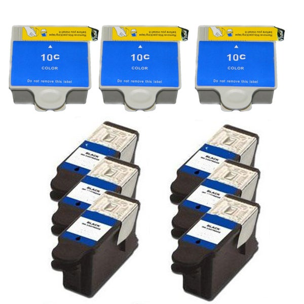 Kodak 30B/30C XL Compatible Black/Colors Ink Cartridge (Pack of 9)