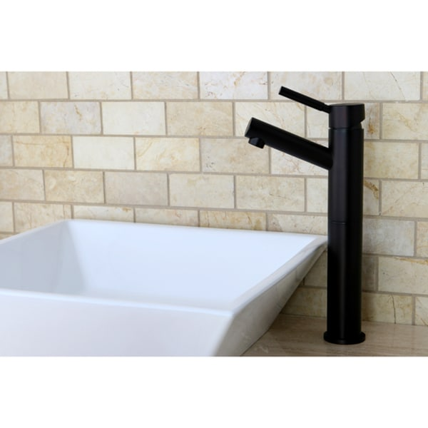 Oil Rubbed Bronze Faucet and Vitreous China Sink Set