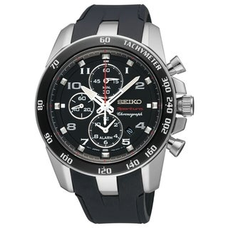 Seiko Men's Sportura Alarm Chrono Landon Donavon Signature Watch