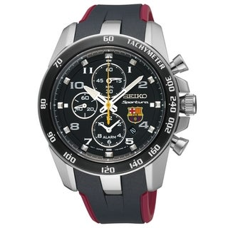 Seiko Men's Sportura Alarm Chrono Barcelona Watch