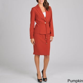 Signature by Larry Levine Women's Skirt Suit