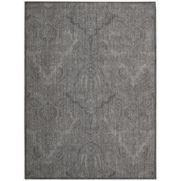 Joseph Abboud by Nourison Majestic Pewter Rug (7'9 x 10'10)