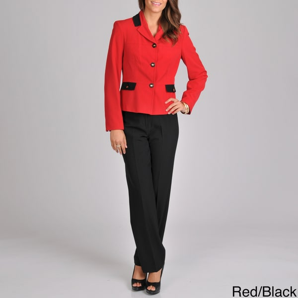 Signature by Larry Levine Women's Unmatched Pant Suit
