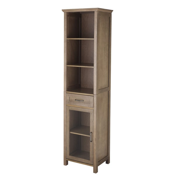 Louis Linen Tower Storage Cabinet
