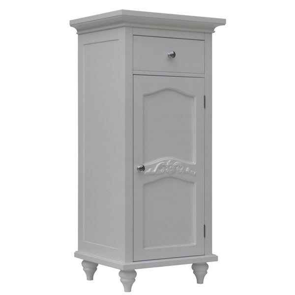 Yvette Single-door/ Single-drawer Floor Cabinet