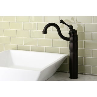 Oil Rubbed Bronze Faucet and Vitreous China Sink