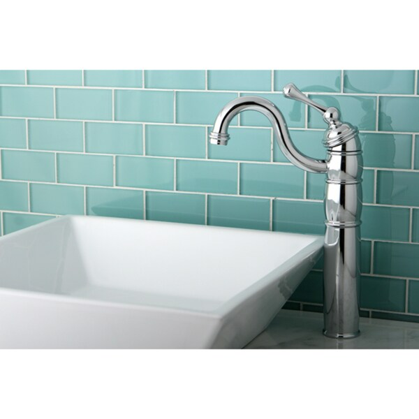 Chrome Faucet and Vitreous China Sink