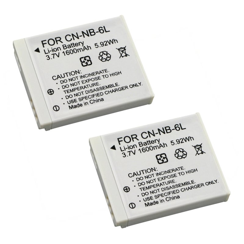 INSTEN Battery for Canon PowerShot S90/ SD980/ D10/ NB-6L