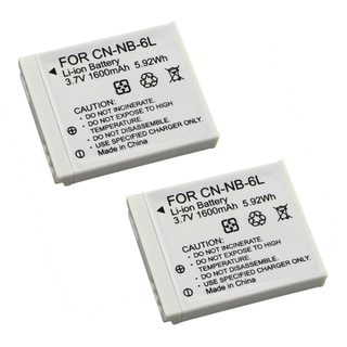 BasAcc Battery compatible with Canon PowerShot S90/ SD980/ D10/ NB-6L