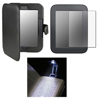 BasAcc Protector/ Case/ Light for Barnes & Noble Nook 2nd Edition