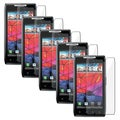 BasAcc Screen Protector for Motorola Droid RAZR XT910 (Pack of 5)