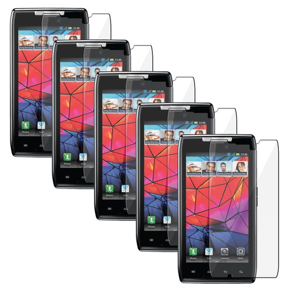 INSTEN Clear Screen Protector for Motorola Droid RAZR XT910 (Pack of 5)