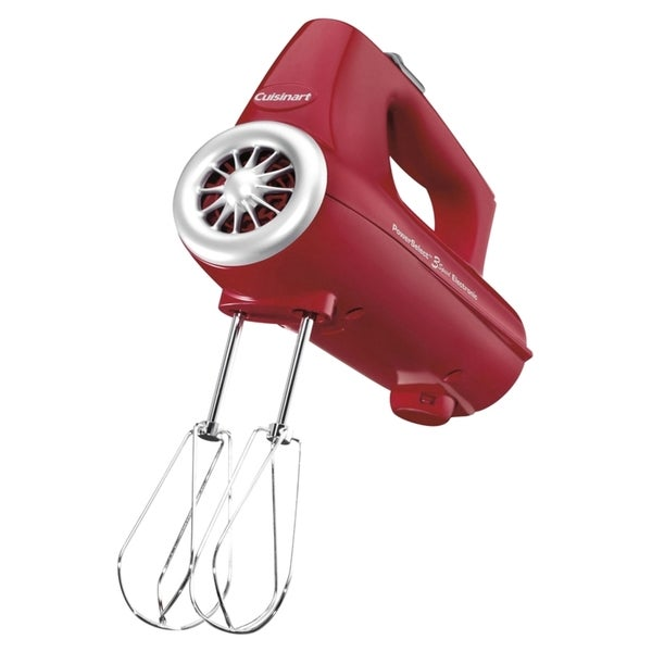Cuisinart PowerSelect 3-Speed Electronic Hand Mixer Features